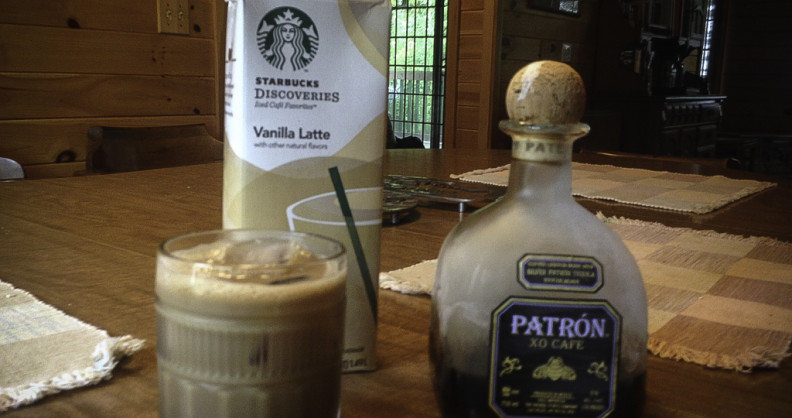 Starbucks and Patron
